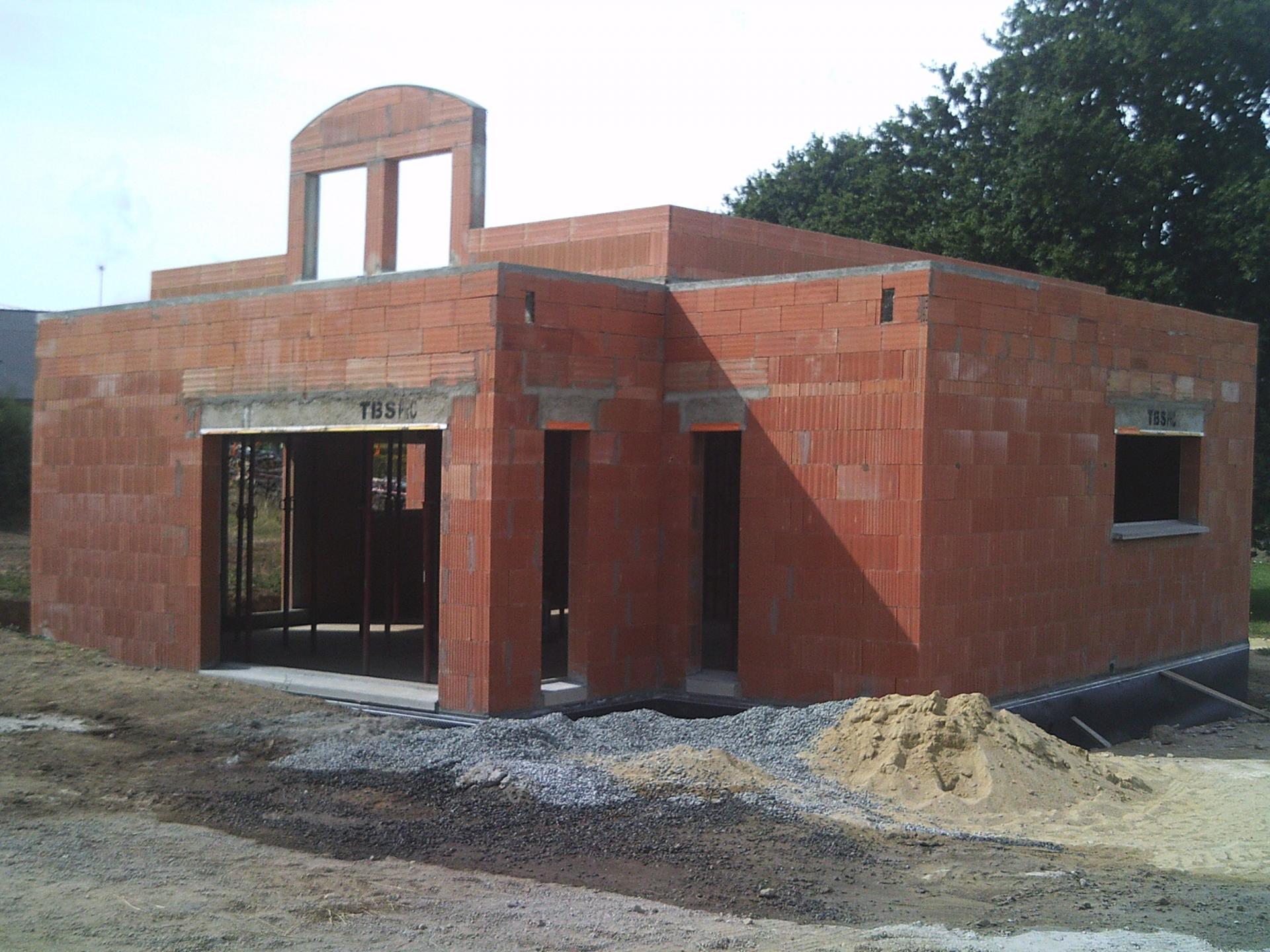 En briques - Refection terrasse beton ...